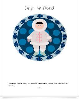 RESSOURCES - Dossier sur le Pôle Nord de Le champ des possibles pour les 5-8 ans