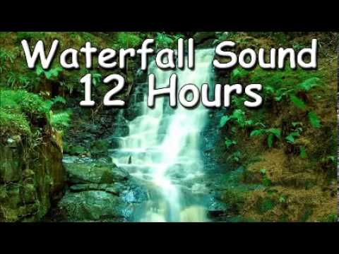 RELAXATION MUSIC Waterfall Sound 12 hour Music for relax and meditation ...