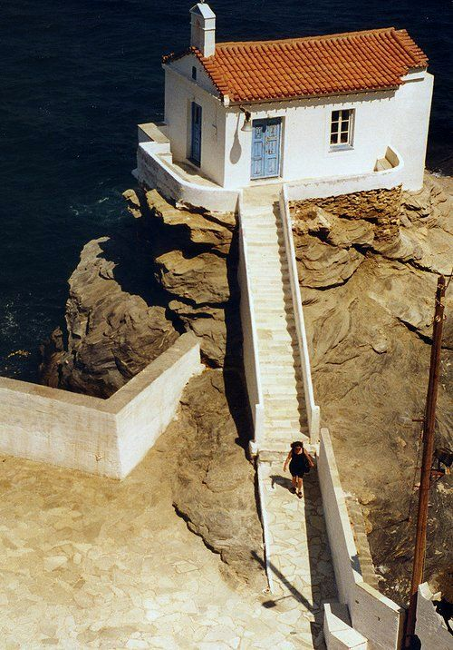 Church in Chora, Andros Island (Cyclades) // by Angelo Spataro via Flickr