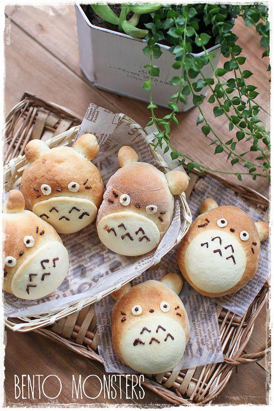 Bread Totoro