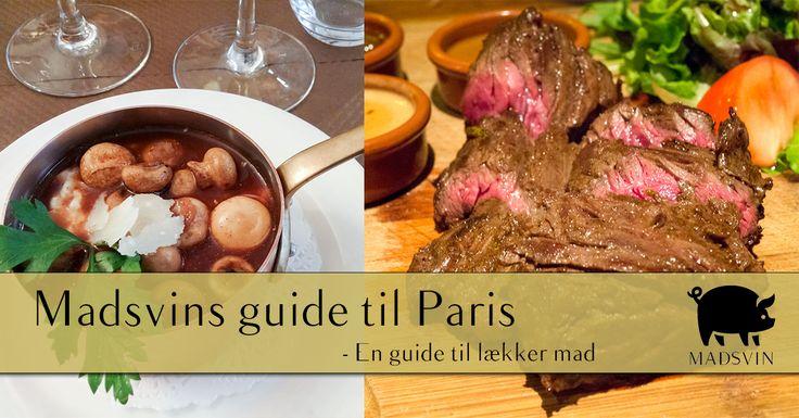 En guide til små, lækre spisesteder i Paris, hvor kvaliteten er i top og prisen er god. Stederne er beskrevet i både ord og billeder.