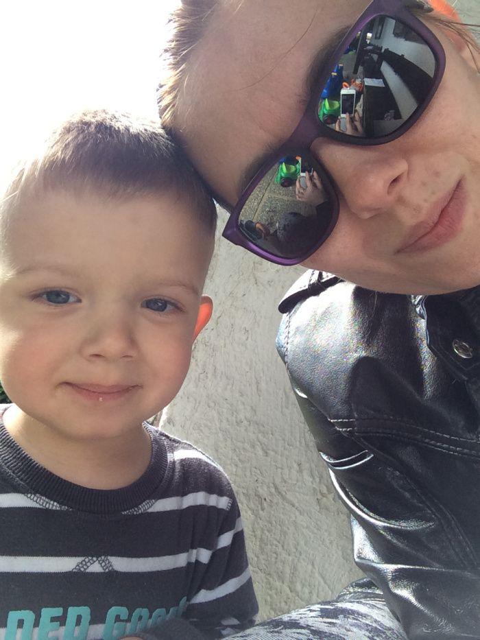 Me&my son