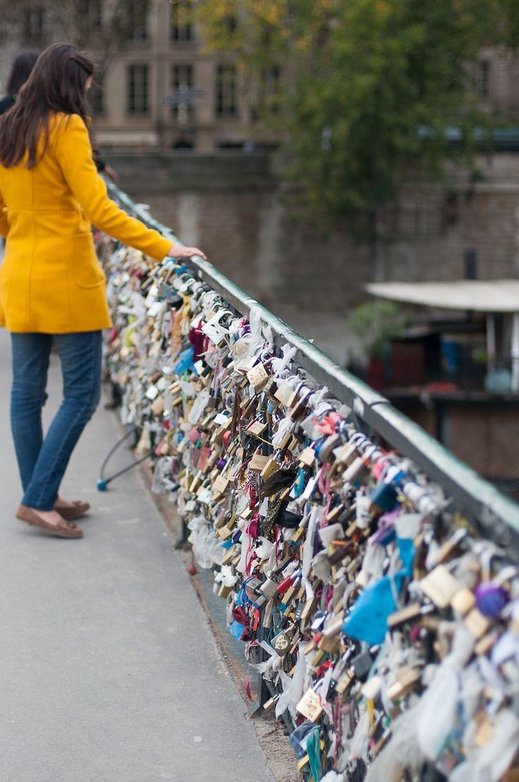 Paris I The Pont des Arts Paris Love Lock Bridge I