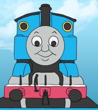 Thomas The Tank Engine Train Bedding Set Blue For Boys