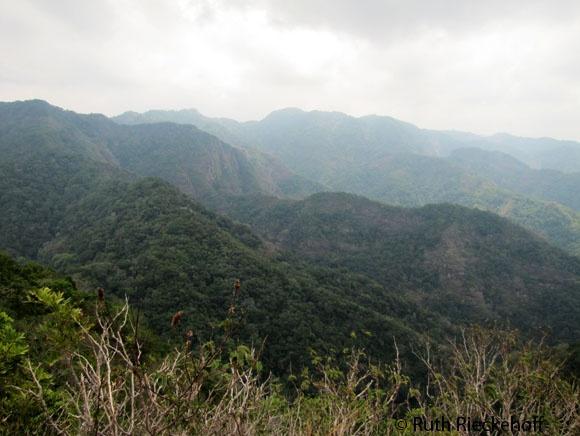 More Views from the top of Cerro El Leon, El Imposible National Park, El Salvador