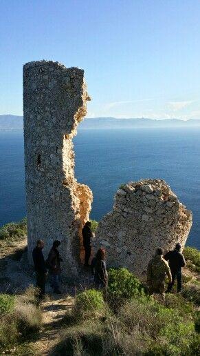 Torre del Poetto. Sopralluogo.