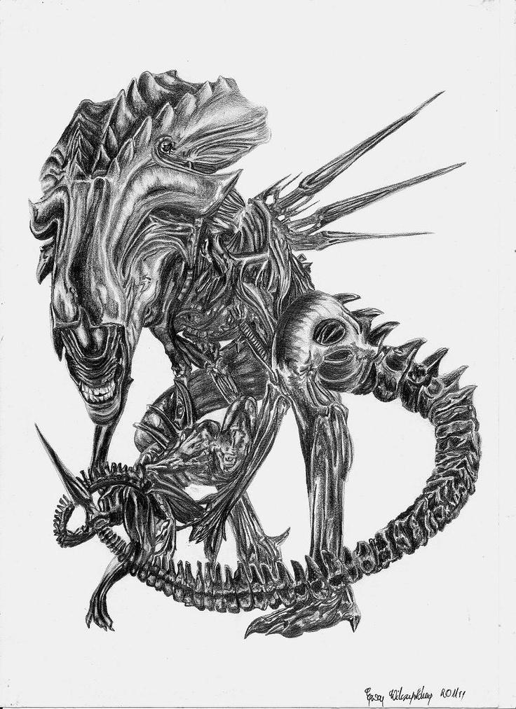 The Alien Queen by ~Arpmadore on deviantART