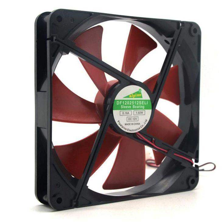 Adroit 2016 New Best Silent Quiet 140mm PC Case Cooling Fan 14cm DC 12V 4D Plug Computer Cooler JUL14 #women, #men, #hats, #watches, #belts, #fashion, #style