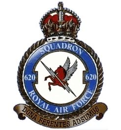 No 620 Squadron was formed at RAF Chedburgh on 17 June 1943 as a heavy bomber…
