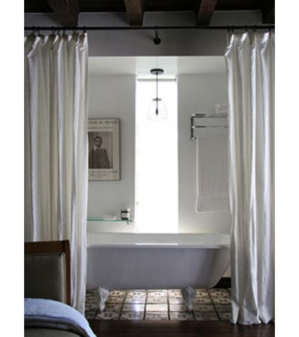 mediterranean bathroom by valerie pasquiou interiors + design, inc