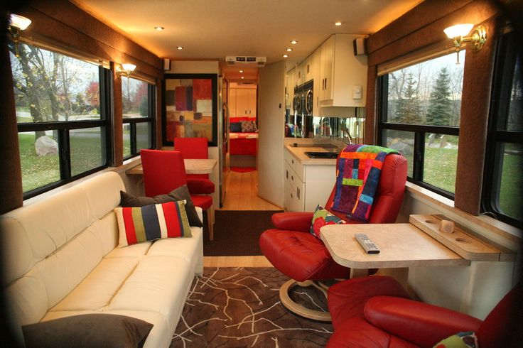 Double Decker Conversion Bus Interior Mci 9 Rv