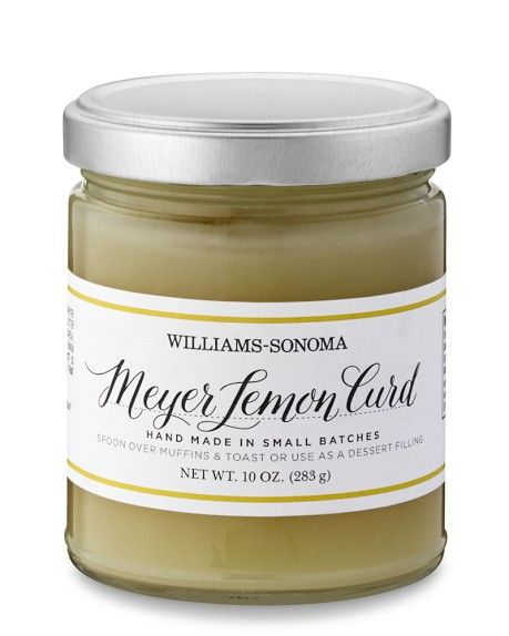 Meyer Lemon Curd: Food Packaging, Lemon Curd, Curd Williamssonoma Y ...