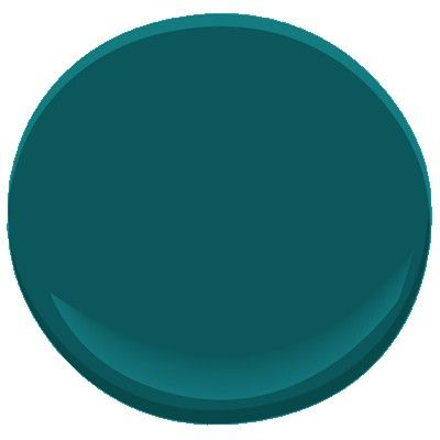 Benjamin Moore, Beau Green, 2054-20  Wall if actually as blue as it looks