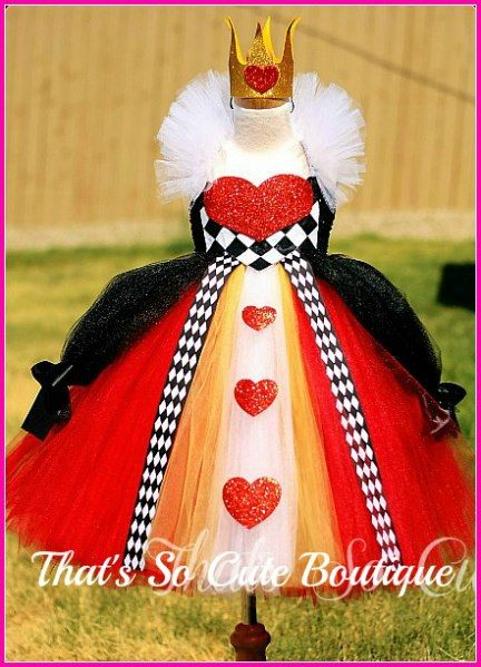 Alice in Wonderland - Queen of Hearts costume