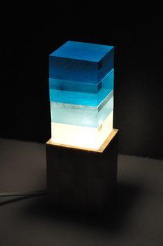 積み照明「地から宇宙へのジオラマ」   TAKEHANAKE design studio