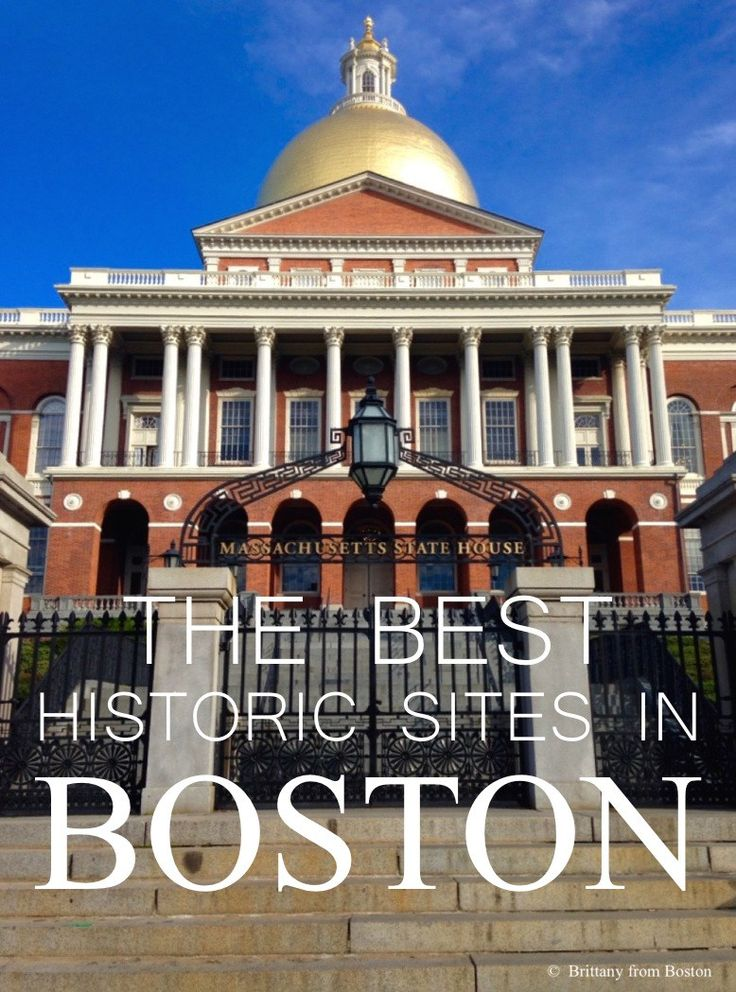 The Best Historic Sites in Boston // Brittany from Boston