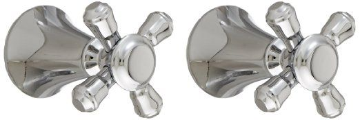 Delta Faucet H295PN Cassidy Two Cross Bath Faucet/Bidet Handle Kit, Polished Nickel - - Amazon.com