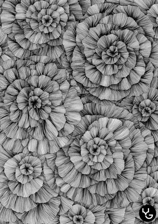 Line::abstract by Vasilj Godzh, via Behance