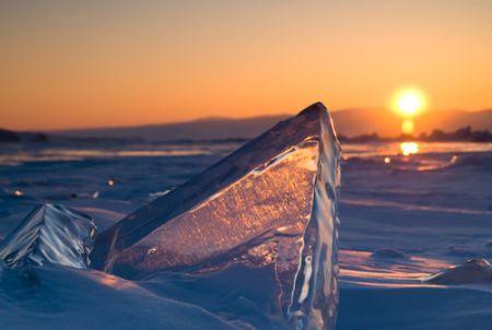 Baikal by winter