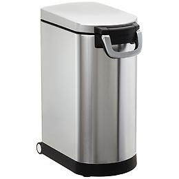 I LOVE simplehuman products, but they're so goshdarn expensive. Take this amazing dog food container for example: $119. You'll never need another one in your life... but it is for dog food.