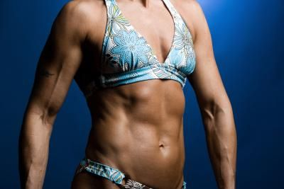 female body building tips for strong abs