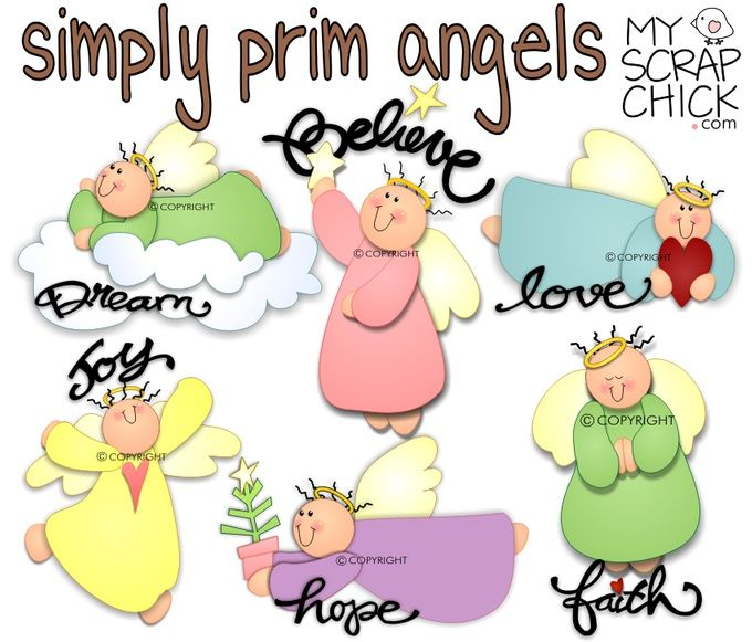 Simply Prim Angels