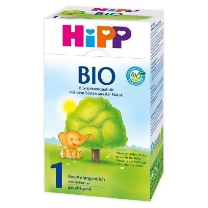HIPP BIO Organic Stage 1 HiPP Organic Infant Milk contains essential probiotics and omegas but doesn't include any of the questionable additives of the brand names like Enfamil or Similac, and no brown rice syrup like the US Organic formulas. #breastmilk #babycare #babyfood #infant #babyformula #formula #hipp #glutenfree