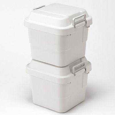ポリプロピレン頑丈収納ボックス・小 約幅40.5×奥行39×高さ37cm | 無印良品ネットストア