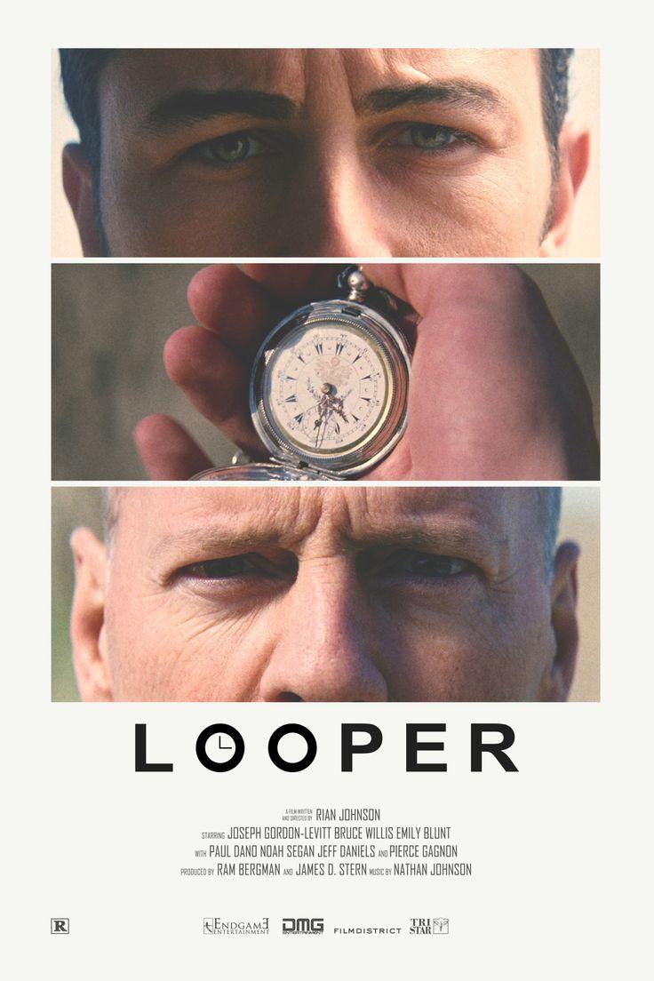Looper alternative retro poster Print available HERE