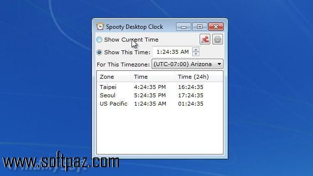 Getting Spooty Desktop Clock setup was never this easy! Download Spooty Desktop Clock installer from Softpaz - https://www.softpaz.com/software/download-spooty-desktop-clock-windows-151781.htm and enjoy high speed downloading from our free servers!