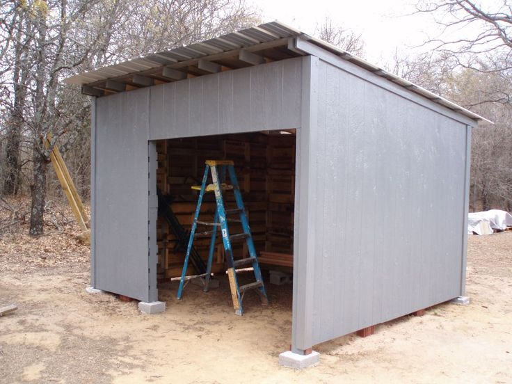 Wood Craft Ideas | My Wood Pallet Shed Project - March 2009