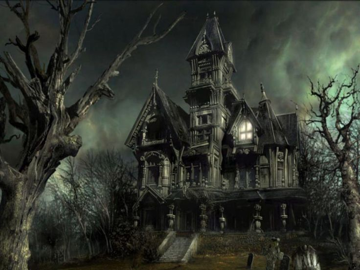 halloween pictures | Halloween Scary House Wallpaper | Download Best Wallpapers