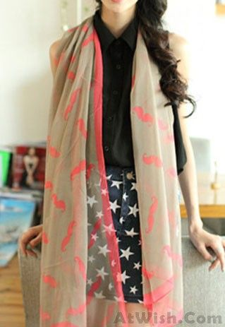 18 best Pretty Scarf images on Pinterest | Fashion scarves ...
