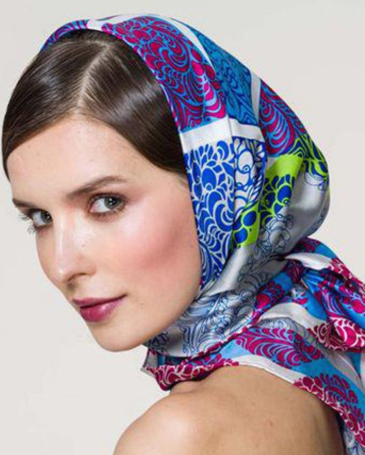 картинки платок на голове красиво завязан происходит присутствии