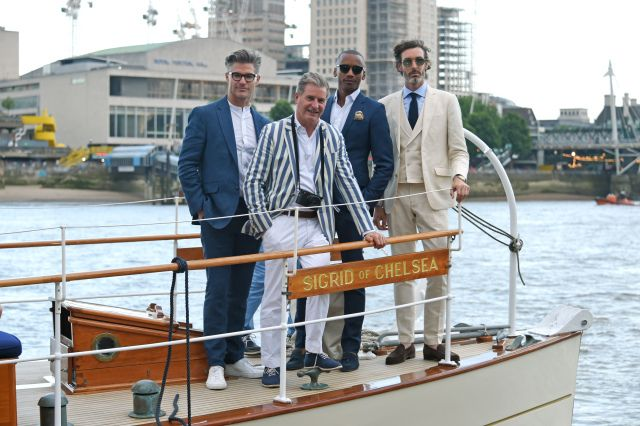 Hackett Marks Royal Henley Sponsorship With Boat Party