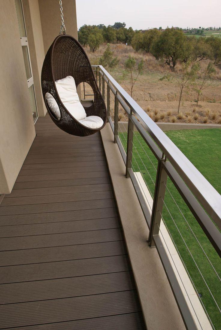 Balcony #deck at Blair Athol Estate. http://www.eva-tech.com/en/