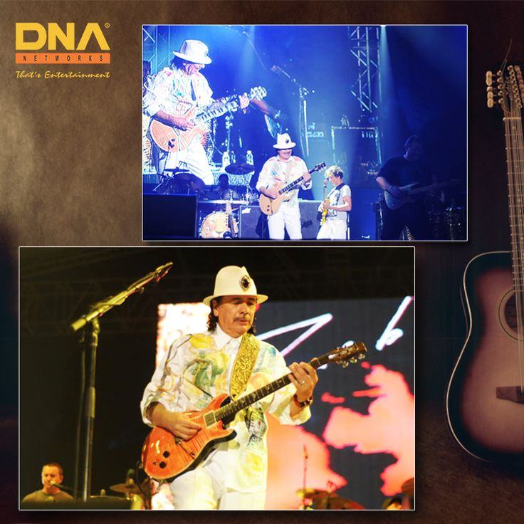 We invited the legendary artist #Santana to perform at Rock 'N India's edition.