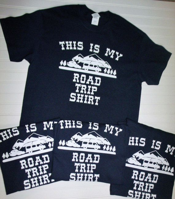 This Is My Road Trip Shirt Family Vacation Shirts Road Trip