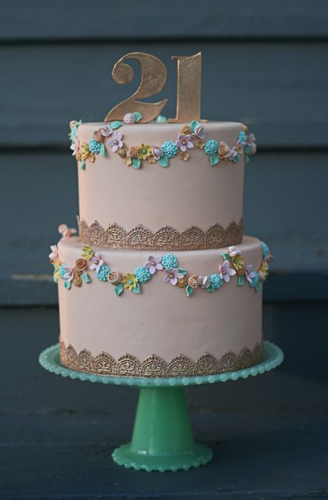Beautiful cake by Erica O'Brien