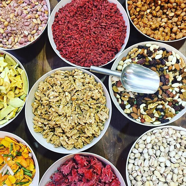 We pretty much ate out was through Granada. This was an afternoon snack stop at a spice/tea/nut store. #yum #spicemarket #granada #spain #explore #dayoff by athletestyle. yum #spicemarket #greatisttravels #girlboss #granada #wearetravelgirls #tourtheplanet #spices #ironman #goopgo #lifeofadventure #nuts #passionpassport #triathlete #vsco #foodandwine #spain #weventureout #travelbloggers #seetheworld #natgeotravel #beautifuldestinations #wanderlust #explore #instagood #travelgram #dayoff
