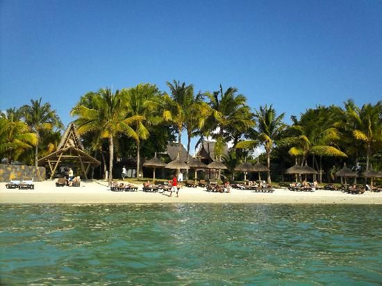 Trou aux Biches Resort & Spa, Mauritius - Playa del hotel (Eric V, sept. 2013) Increíble