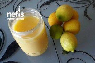 Limon Kreması Yapımı