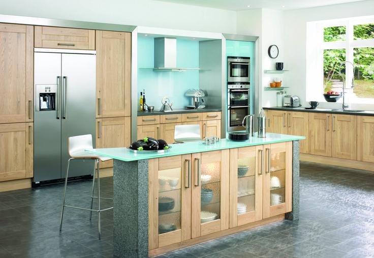 Thatcham Kitchens- Mereway Kitchens- Town & Country- Redmond-  Light Oak