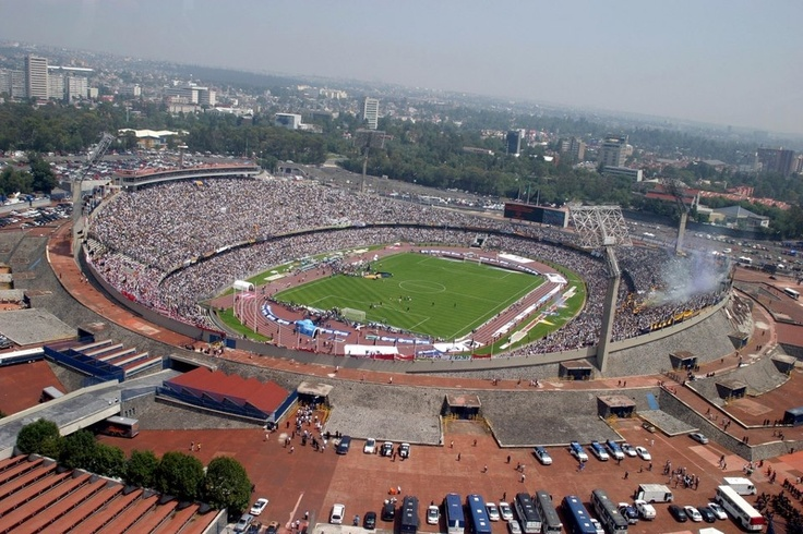 C.U. Olympic stadium - Mexico City... How can't you bee in love with this <3