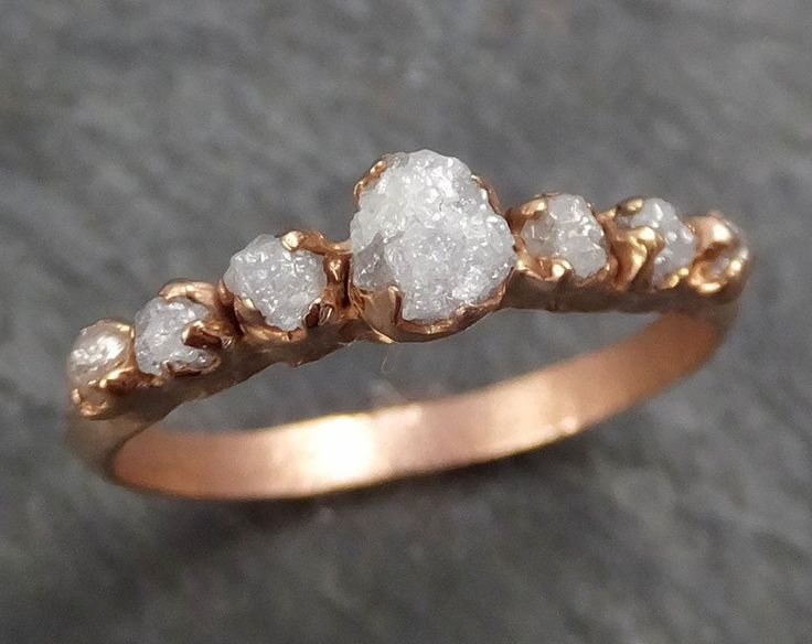 Best 25 Rough diamond rings ideas on Pinterest Raw diamond