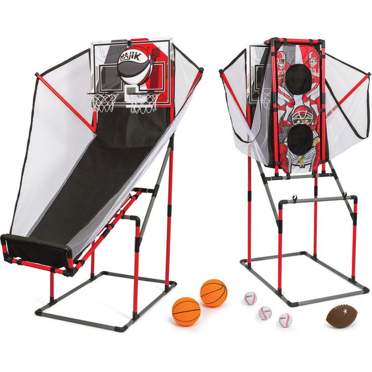 #Kids #Arcade #Sport #Center #Game #System 3-in-1 #Basketball #Football and #Baseball #NEW