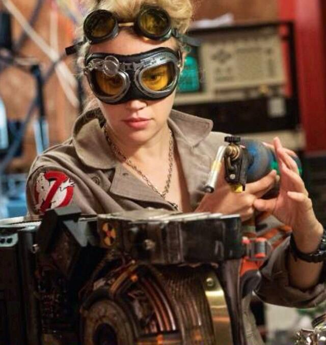 Yass love her goggles