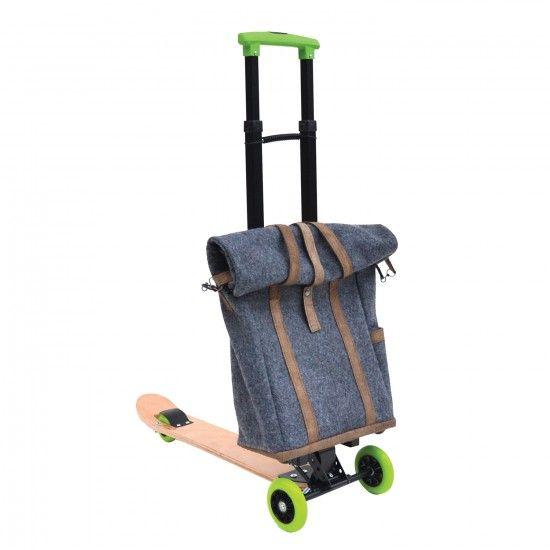 MONOQI   City Scooter + Tasche