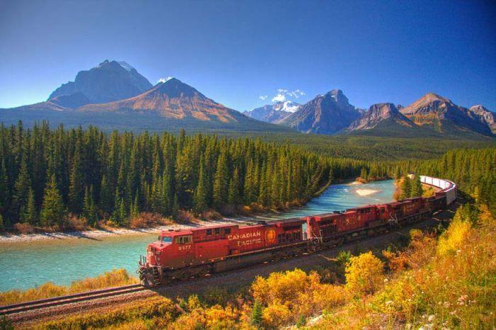 canada+outono+trem=perfect