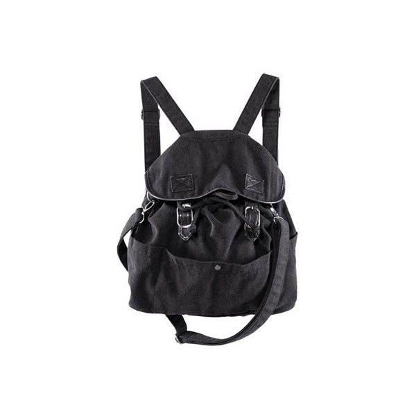 Fotos: Moda gótica para looks urbanos - Mochila en Marie Claire España ❤ liked on Polyvore featuring bolsas, bags and mochila